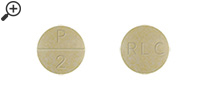 WP Thyroid 2 Grain 130 mg Pill